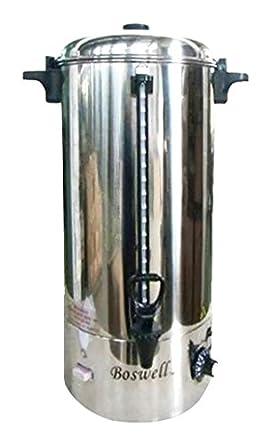 Boswell comercial equipo pu200 SS cafetera de filtro 20 litros, 11 ...