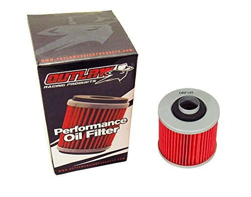 Outlaw Racing ORF145 Performance Oil Filter YAMAHA XT550 APRILIA PEGASO 650 Replaces - Filter V-star Oil 1100