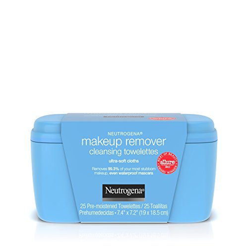 Price comparison product image Neutrogena Makeup Remover Cleansing Towelettes & Wipes, 25 Count
