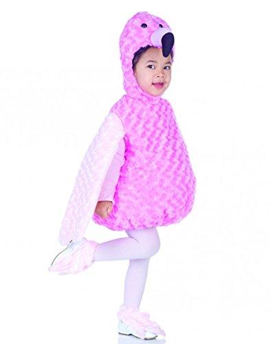 Underwraps Costumes Baby's Flamingo Belly-Babies, Pink, -