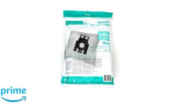 10 Staubsaugerbeutel für Miele S 251 i, S251: Amazon.es: Hogar