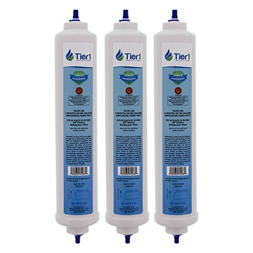 (Tier1 Replacement for GE GXRTDR Inline Water Filter 3 Pack )
