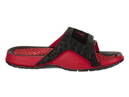 Jordan Nike Menns Hydro Xiii Retro Sandal Svart / True Red