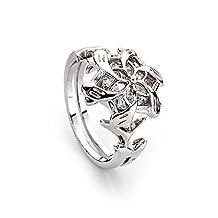 lureme® Galadriel Ring Nenya Water Lotr Lord of the Rings (04001480)