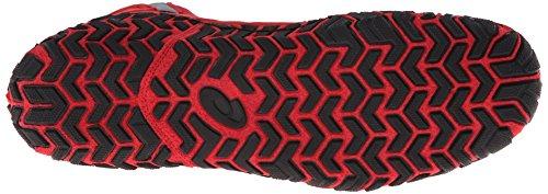 Asics - Herren Agressor 2 Schuhe, Eur 42,5, Brand Rood / Zwart / Grafiet