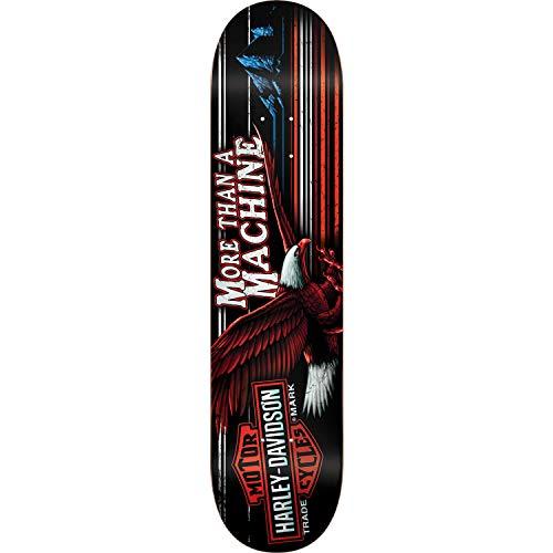 エゴイズムオーストラリア改善DarkstarスケートボードXハーレーダビッドソンHighwayレッド/ホワイト/ブルースケートボードデッキ – 8