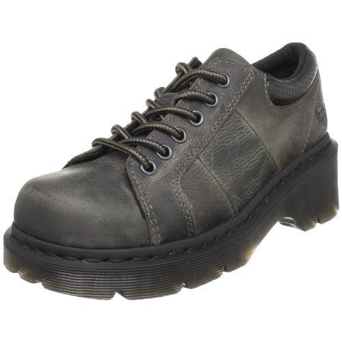 Dr. Martens Mujeres Melissa 6 Eye Oxford Black Greenland