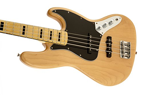 Squier by Fender 306702521 Vintage Modified Jazz Bass '70s, Natural by Fender (Image #4)