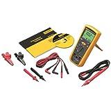 Fluke 1503 Digital Megohmmeter, 500/1000V Test Voltages, 2, 000 Megohms Insulation Resistance, 20 Kilohms Low-Resistance, 600V Voltage