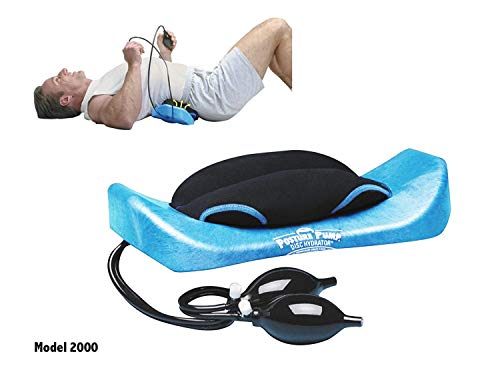 POSTURE PUMP Relief for Low Back Pain Elliptical Back Rocker™ DISC HYDRATOR (Model 2000) ()