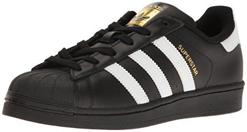 W Basses Gold Adidas Black Sneakers metallic white Femme Superstar ZzCqH5Tx