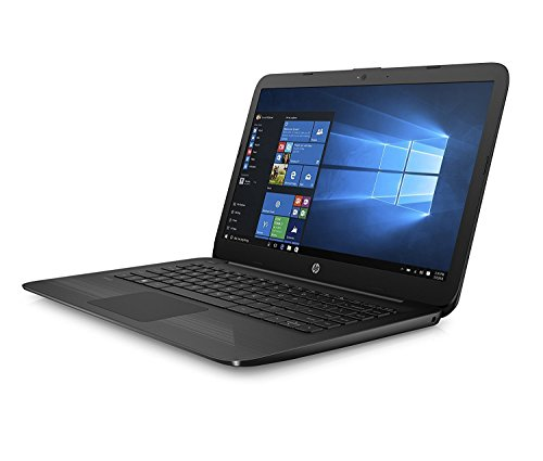 hp 14 ax040wm laptop intel celeron n3060 1 6 ghz 32 gb windows 10 home 64 bit black 14. Black Bedroom Furniture Sets. Home Design Ideas
