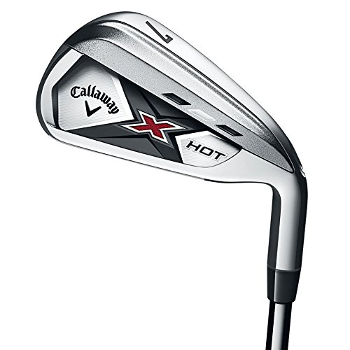 Callaway X Hot 6 Iron (Men's, Left Hand, Steel, Stiff, used for sale  Delivered anywhere in USA