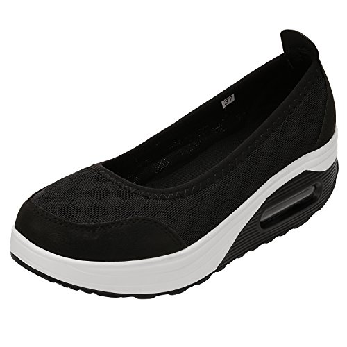 STENFFY Women's Athletic Casual Slip-On Toning Lightweight Sneaker Walking Shoes
