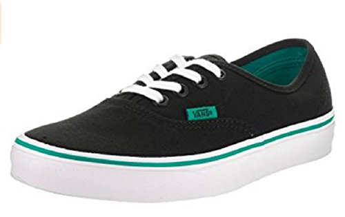 Vans Unisex Authentic (Pop) Skate Shoe (11 B(M) US Women / 9.5 D(M) US Men, Columbia/Black)