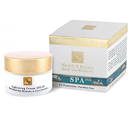 Lightening Face Cream - Organic Moisturizer for Women