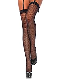 51eb9d241 Women s Lace Top Fishnet Stockings