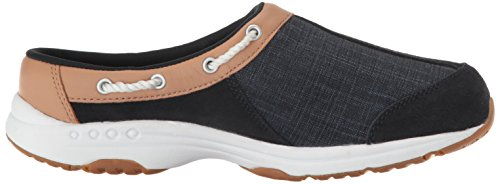 Esprit Facile Womens Travelport Mule Navy Multi Daim