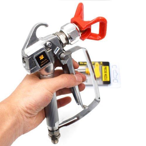 Airless Paint Spray Gun 3600PSI w/ Tip Guard For Graco TItan Wagner Sprayers MANHONG