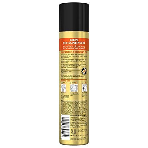 Suave Professionals Dry Shampoo, Keratin Infusion, 4.3 oz