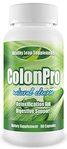 ColonPro Double Strength de Super Colon Cleanse - supplément de perte maximale Detox diététique Poids naturel -Pharmaceutical année Cleansing Formula - Docteur recommandé - PERDRE DU POIDS - REJUVENATE - nettoyer et énergie! (60 capsules - approvisionneme