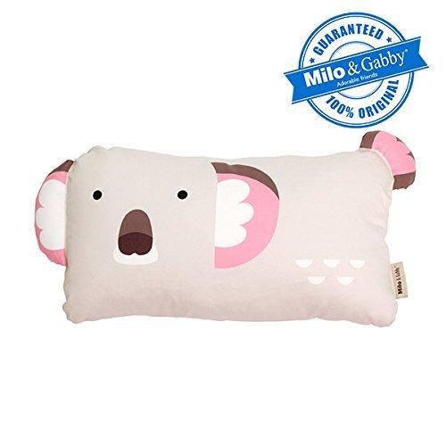 MILO & GABBY - Funda de Almohada para niños, diseño de Animales, Olive The Koala, Bebé (2 años), 1, 1