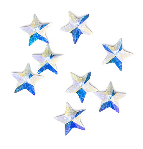 Swarovski   Create Your Style 5Mm Ab Star Flatback 3 Packages Of 8 Piece  24 Total Crystals