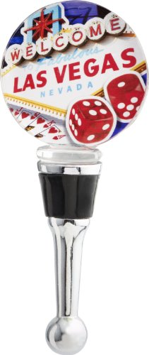LSArts Wine Bottle Stopper, Las Vegas