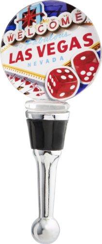 Art Glass Wine Bottle - 9