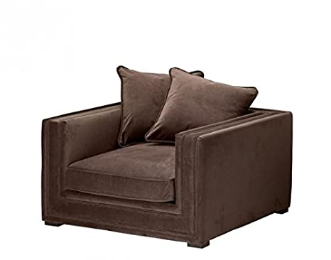 Casa-Padrino Luxury Art Deco Hotel Armchair Brown - Limited ...