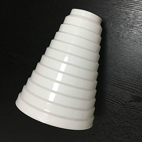 utilizado con sistema HVAC para conductos y ventiladores extractores reductor de PVC 15-18 cm Reductor universal para sistemas de ventilaci/ón 80//200 mm de di/ámetro tubo redondo de ventilaci/ón