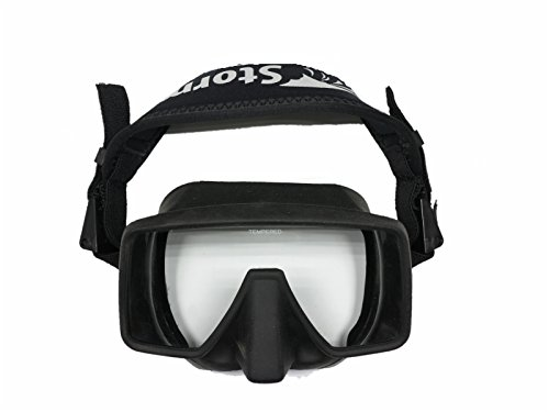 - Storm MK1 Frameless Technical Scuba Diving Mask - Black by Storm Accessories