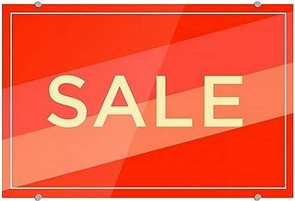 27x18 Modern Diagonal Premium Acrylic Sign CGSignLab Sale