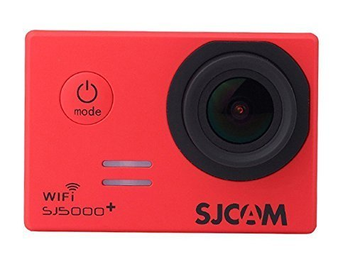 SJCAM SJ5000 Plus Wifi Ambarella A7LS75 1080P 60FPS WiFi Built-in 1.5'' LCD 16MP 170° Wide Angle Sport Action Camera Waterproof Cam HD Camcorder Outdoor for Vehicle Diving Swimming (Red) Action Cameras SJCAM