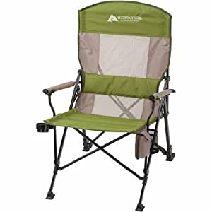 Amazon Com Ozark Trail Deluxe Oversize Hard Arm Chair