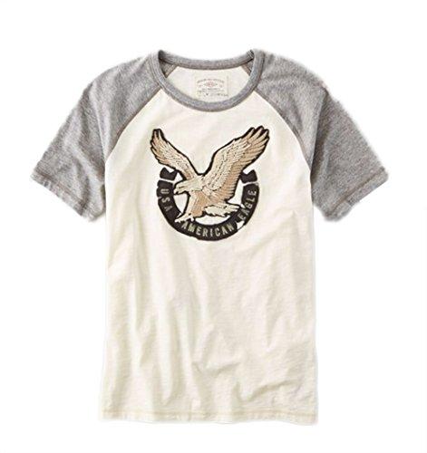 American Eagle AEO Applique Graphic Vintage T-Shirt, Size S-XL (X-Large) ()