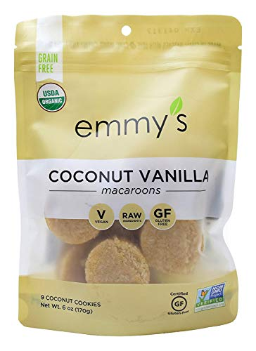 (Emmy's Coconut Vanilla Macaroons, 6 Ounce (Pack of 2))