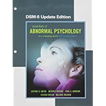 Essentials of Abnormal Psychology, Third Canadian Edition, DSM-5 Update Edition, Loose Leaf Version (3rd Edition)