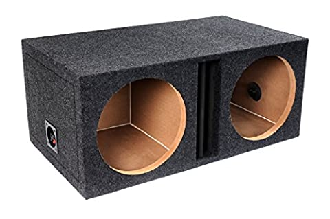 Bbox E10DV 10-Inch Dual Vented Dived Chamber Subwoofer Enclosure (10 In Sub With Box)