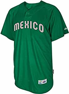 VF Mexico Majestic 2013 World Baseball Classic Authentic Batting Practice  Jersey