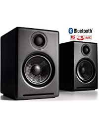 A2+ Altavoces inalámbricos para ordenador, Audioengine, sistema de altavoces Bluetooth (par)
