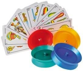 Momparler1870 - 4 sujeta cartas: Amazon.es: Juguetes y juegos