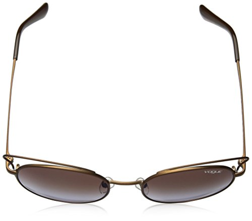 Gafas Redondas Casual Chic Matte 52 Light De Vogue Brown Sol qwEXgd1