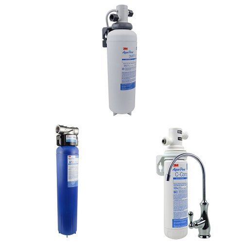 Aqua-Sterling Under Sink Water Filtration System, Model AP Easy Complete & AP904 - Whole House Water Filtration Methodology & 3M Aqua-Pure Under Sink Water Filtration System, Model 3MFF100, 6 per case, 5616318