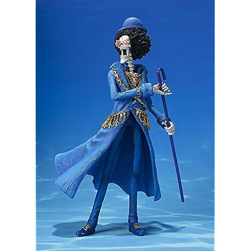 Figurine One Piece - Brook 20th Anniversary Diorama 3 SH figuarts Zero 21 cm