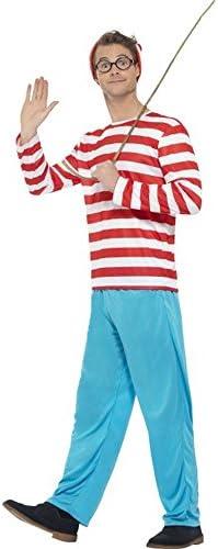 Disfraz de Dónde está Wally: Wally para Hombre: Amazon.es ...