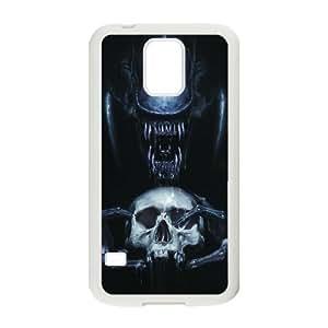 Extranjero Xenomorph Samsung Galaxy S5 Caso funda cubierta blanca del teléfono celular Funda Cubierta EDGCBCKCO01100