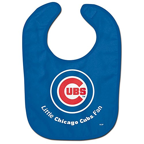 (WinCraft MLB Chicago Cubs WCRA2018314 All Pro Baby Bib)