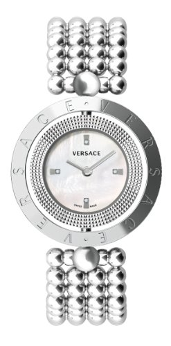 Versace Eon Lady Mother of Pearl Dial Stainless Steel Ladies Watch 79Q99SD498-S099