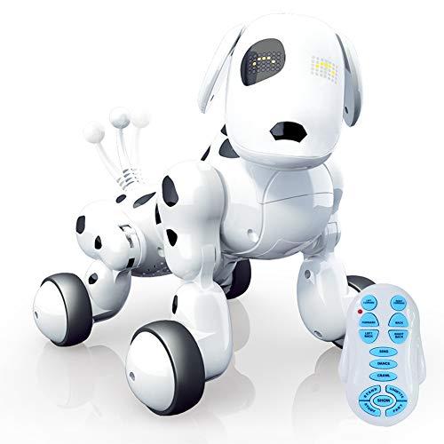 Traioy Robot Interactivo InaláMbrico De Alta TecnologíA Puppy Boy/Girl Childhood Playmate Holiday Regalo De CumpleañOs,...